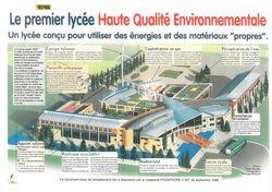 Le Lycée HQE