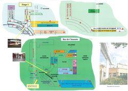 Le plan du Lycée